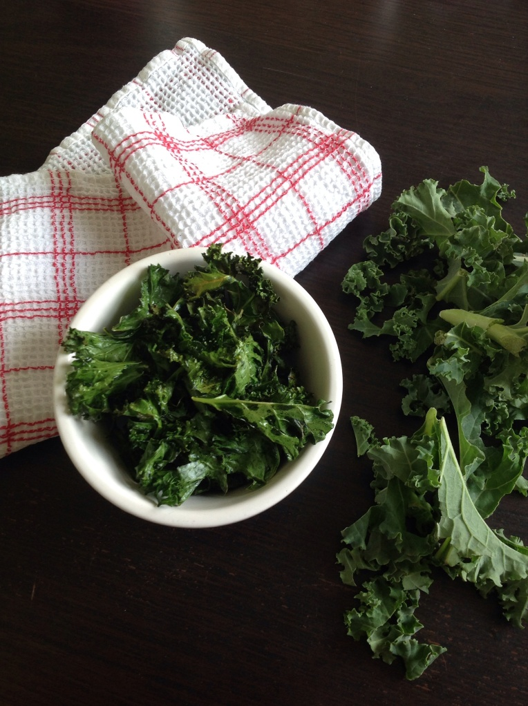 Healthy kale chips | Add A Little