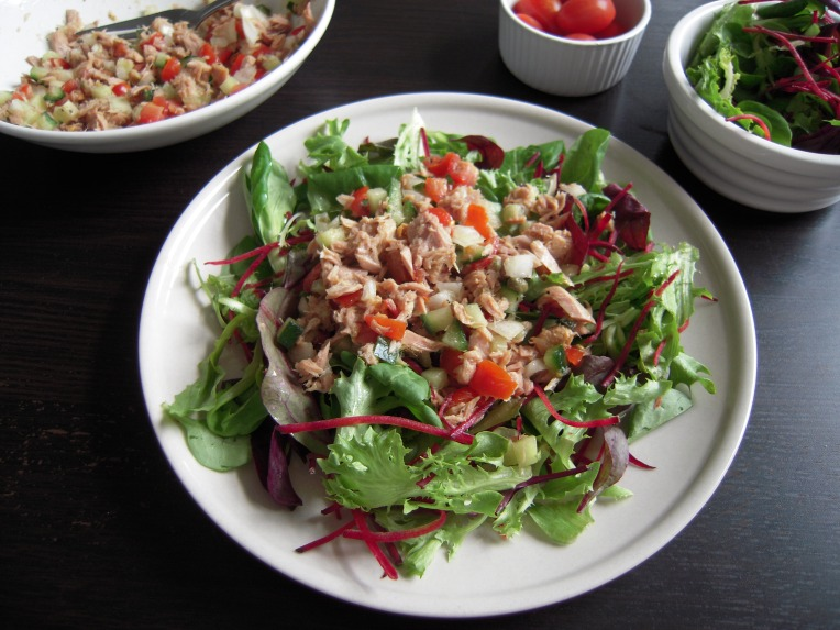 Healthy Tuna Salad// addalittle