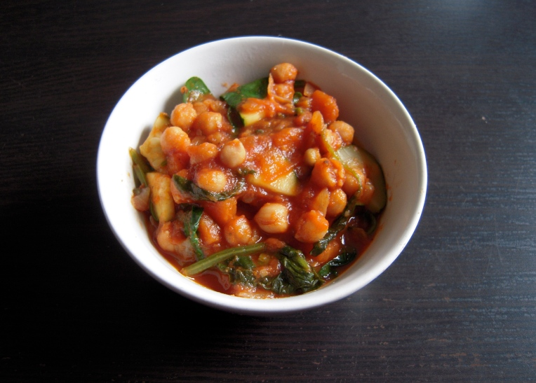 Healthy Chickpea Stew l Add A Little