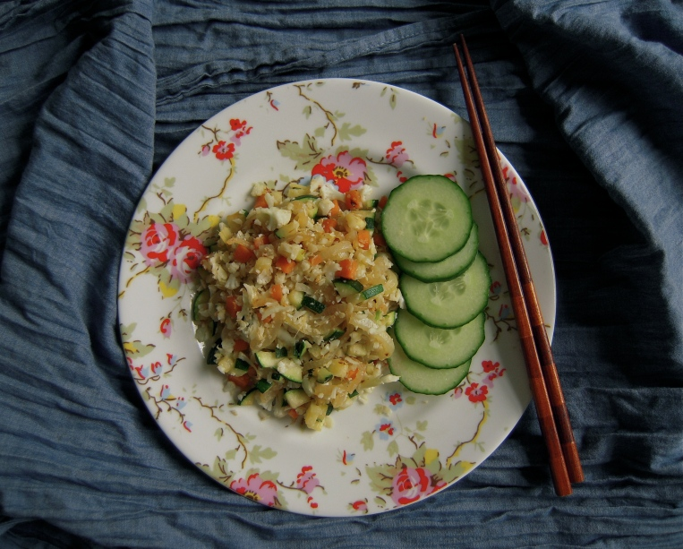 Cauliflower Fried Rice l Add A Little