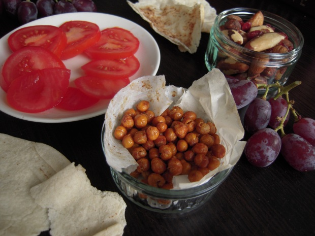 Roasted Chickpeas | Add A Little