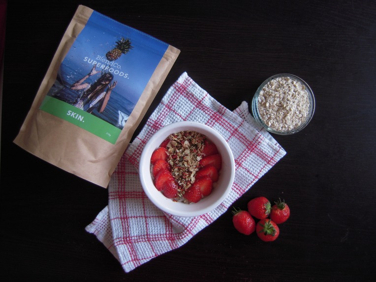 Strawberry Oatmeal | Add A Little