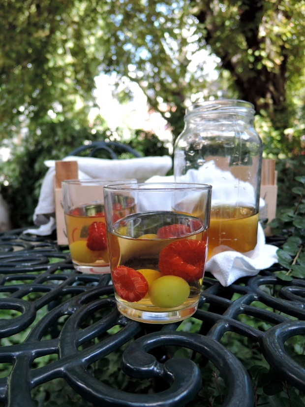 Summer Fruit Mint Tea | Add A Little