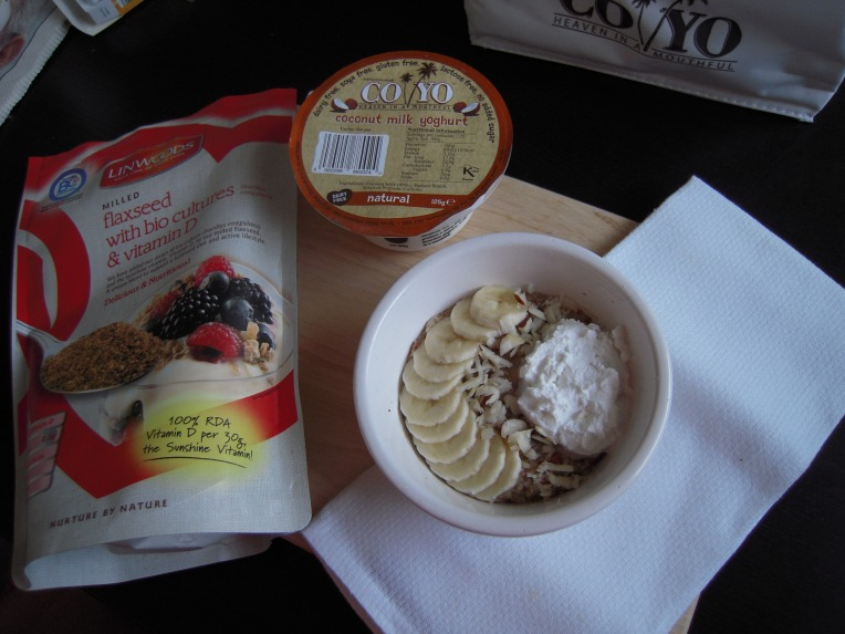 Coco-nutty Oatmeal (vegan, gluten free, dairy free)  Add A Little