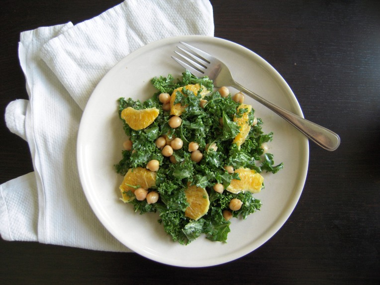 Kale and Orange Salad | Add A Little