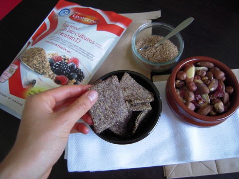 2 ingredient Flaxseed Crackers (vegan, gluten free, dairy free) | Add A Little