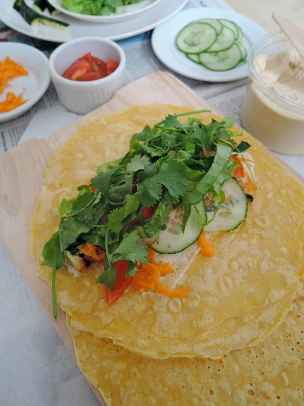 Chickpea Wraps {gluten free} | Add A Little