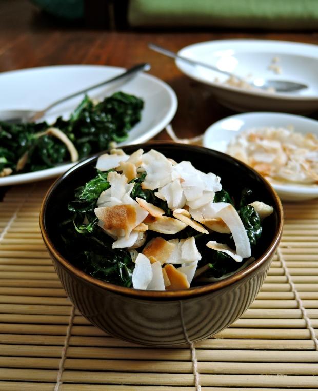 Chicken, Kale & Coconut Rice | Add A Little