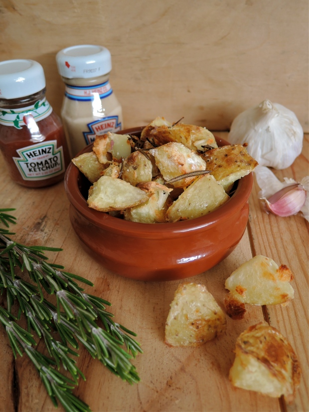 The Best Roast Potatoes with Rosemary & Garlic | Add A Little