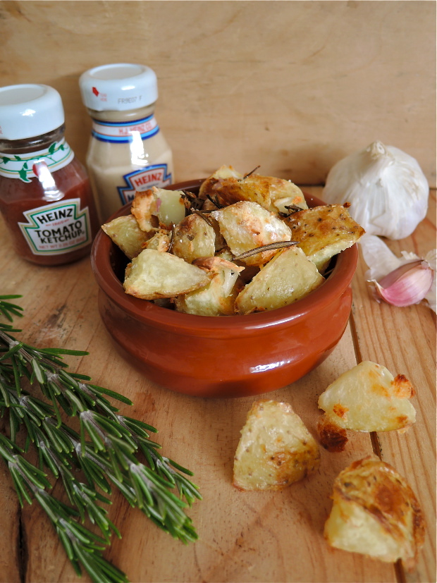 Rosemary Roast Potatoes | Add A Little
