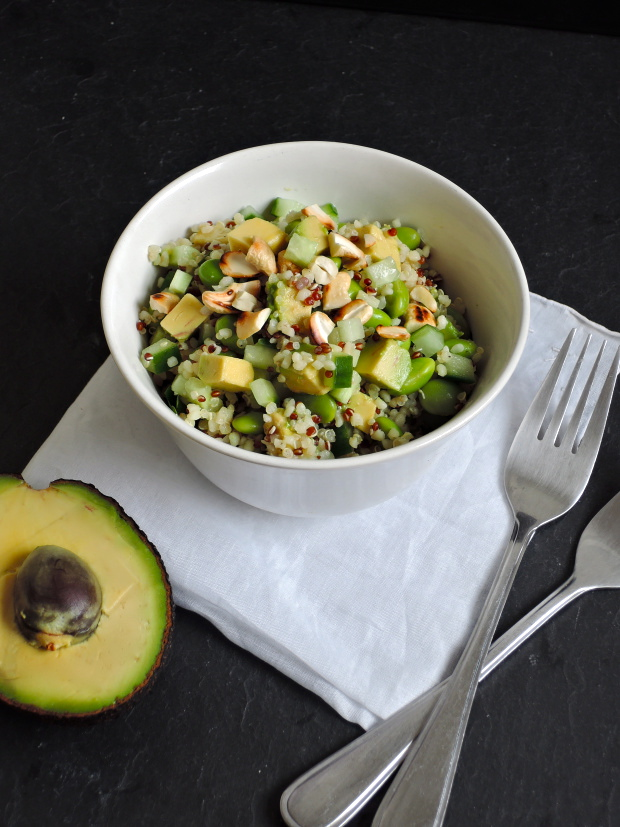 Green Quinoa Salad | Add A Little