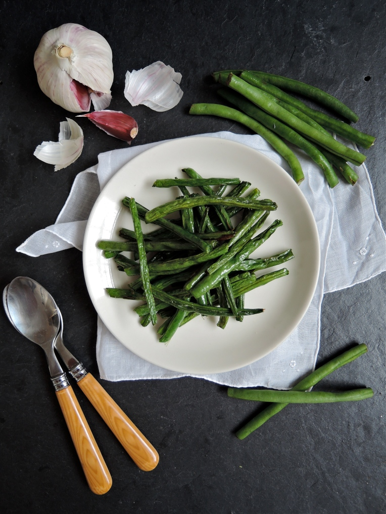 Roast Green Beans | Add A Little