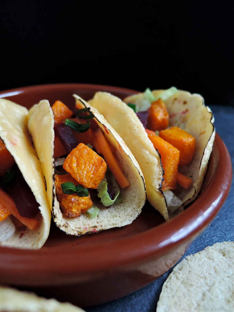 Butternut Squash Tacos | Add A Little