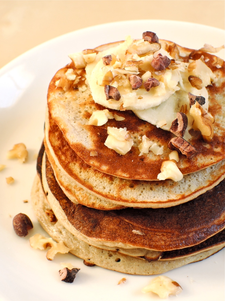 2 Ingredient Pancakes | Add A Little #glutenfree #dairyfree #paleo #pancake