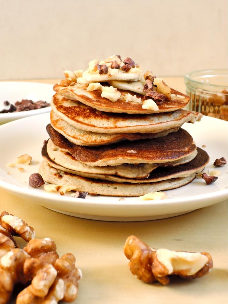 2 Ingredient Pancakes   Add A Little #glutenfree #dairyfree #paleo #pancake
