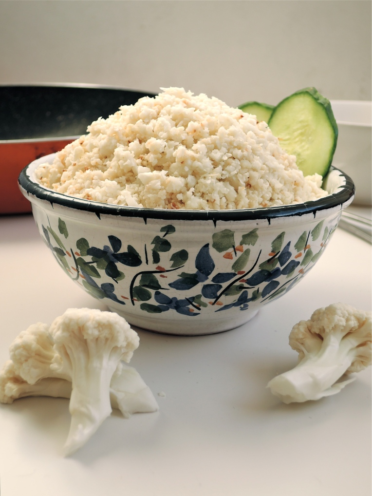 How to Make Cauliflower Rice Without A Food Processor | Add A Little