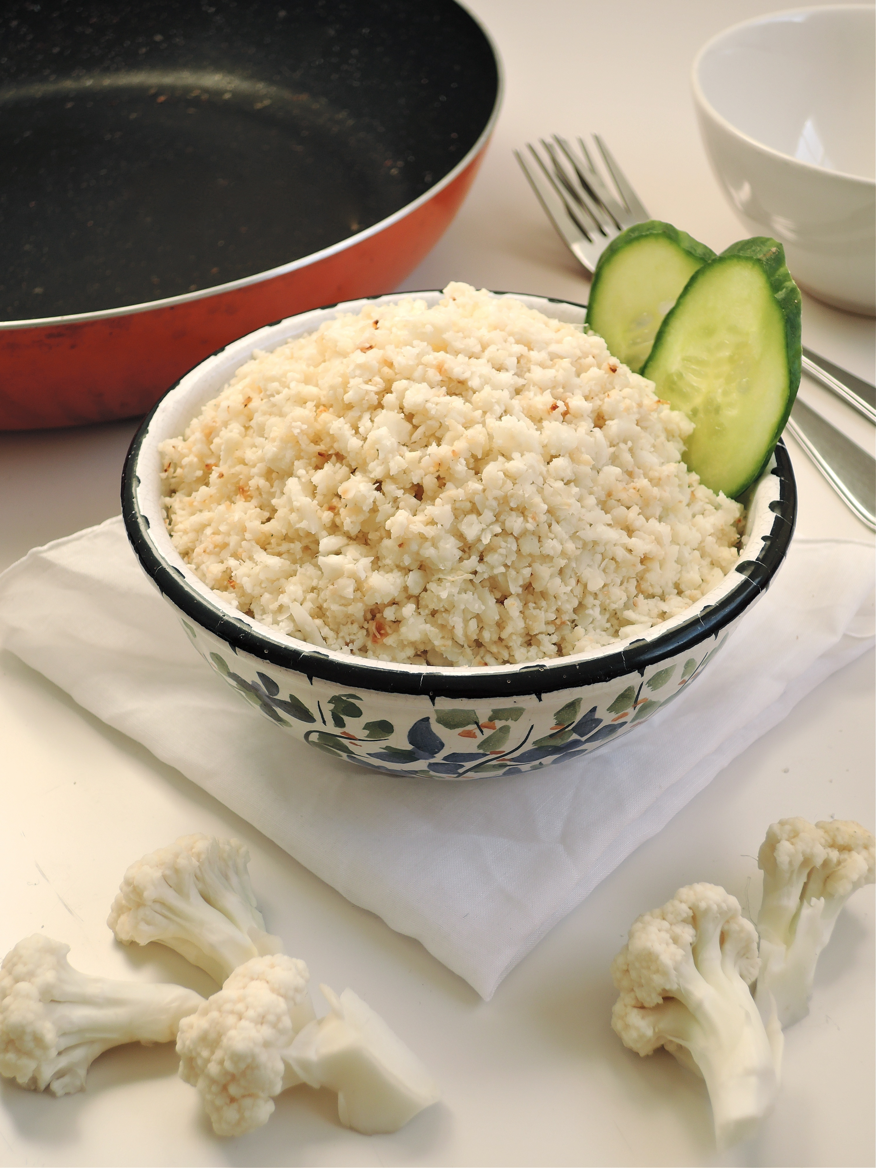 How to make cauliflower rice without a food processor add a little how to make cauliflower rice without a food processor forumfinder Choice Image