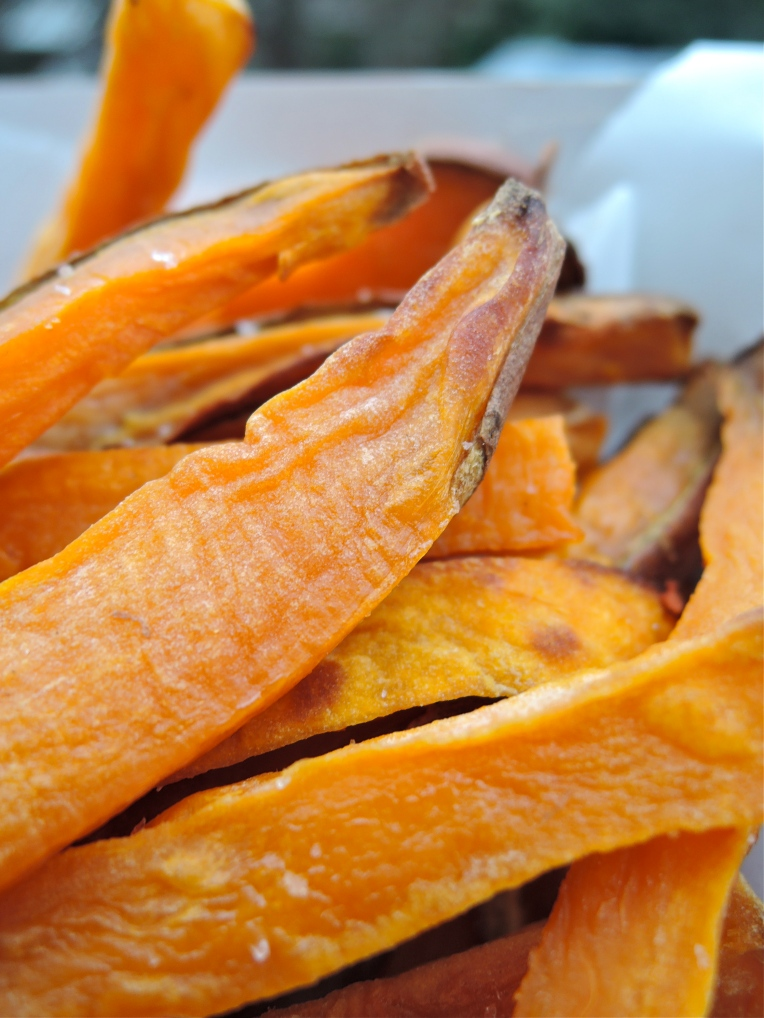 Sweet Potato Fries | Add A Little