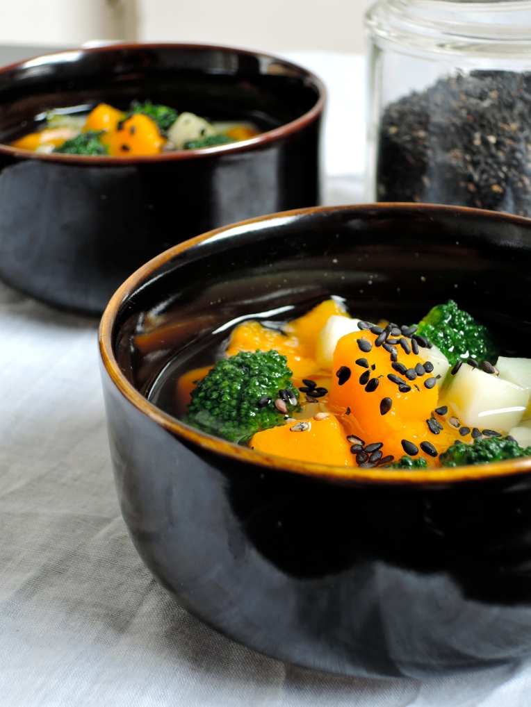 Simple Vegetable Miso Soup | Add A Little