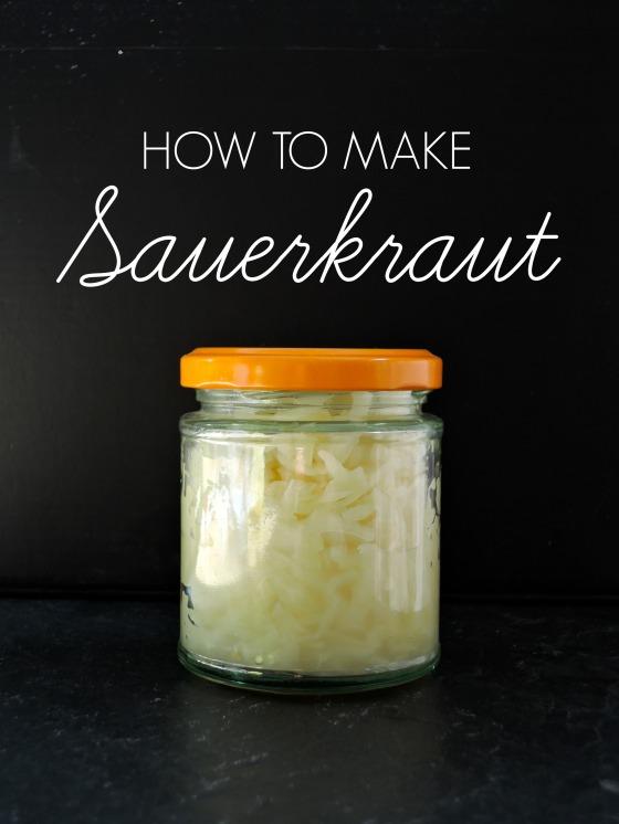Small Batch Sauerkraut | Add A Little