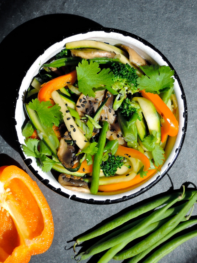 Easy & Healthy Stir Fry | Add A Little