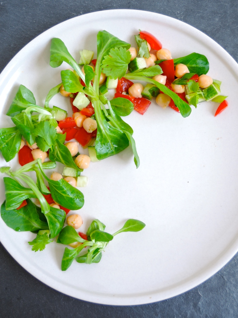 Fresh Chickpea Salad   Add A Little