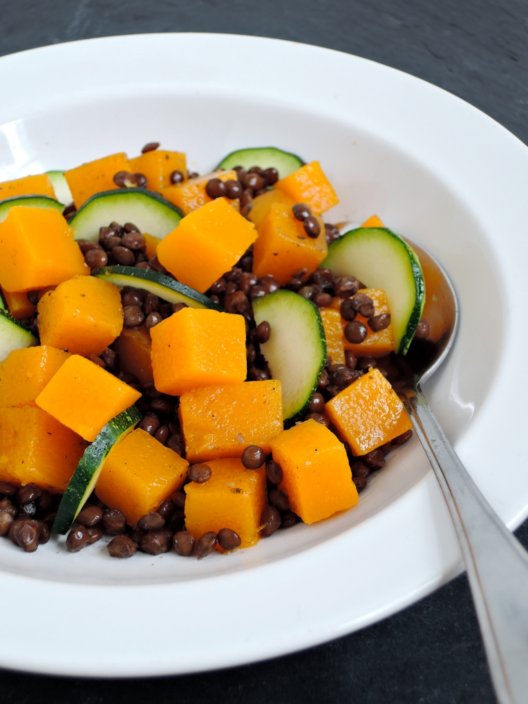Butternut Squash & Lentil Salad | Add A Little
