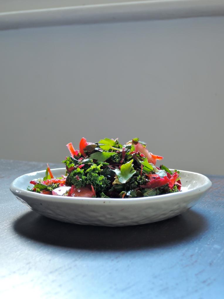 Rainbow Kale Salad   Add A Little