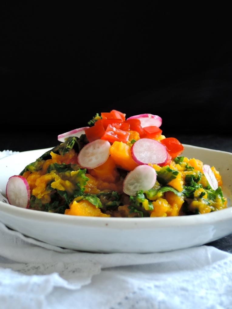Spiced Squash & Kale Dahl | Add A Little