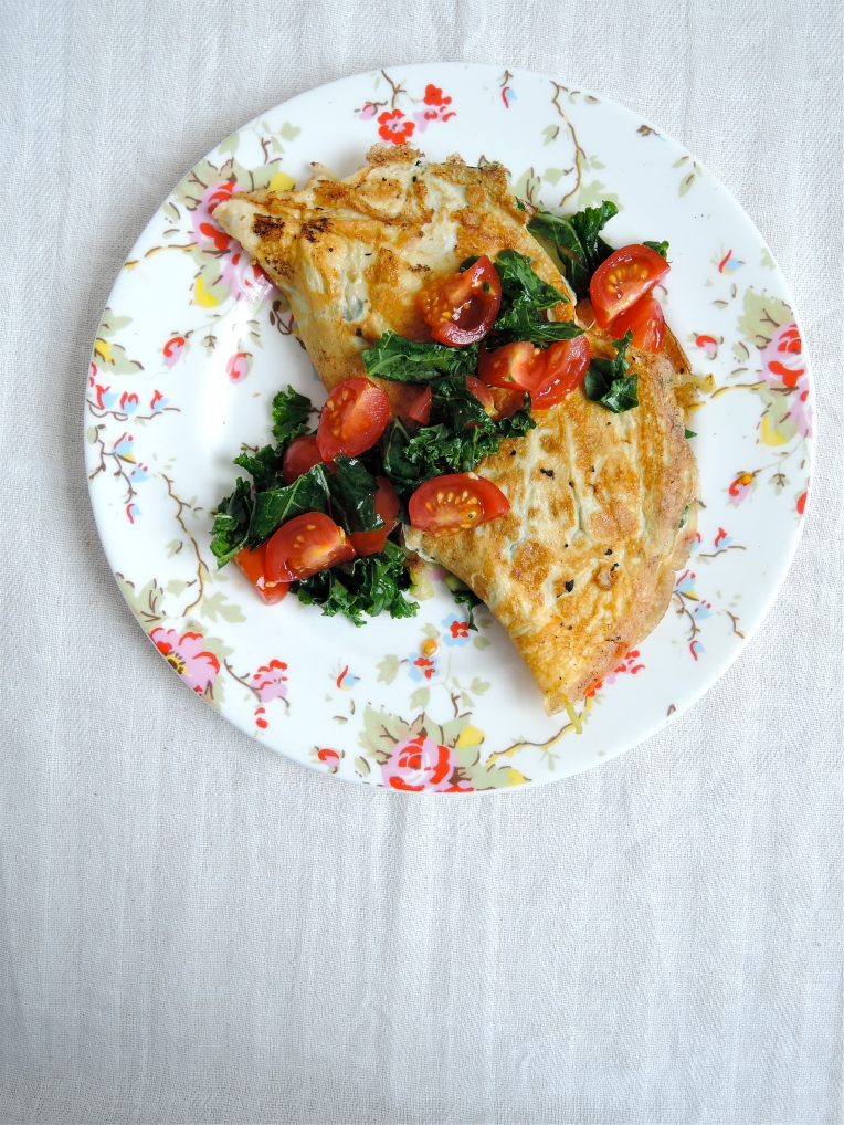 Easy Vegetable Omelette | Add A Little